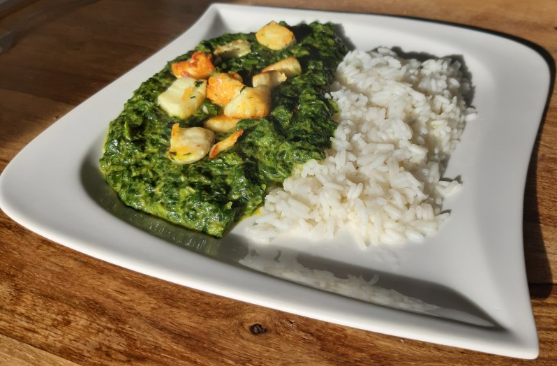 Palak paneer: Indian spinach and cheese recipe
