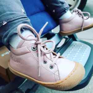shoe shopping for babies