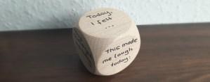 mental check-in dice