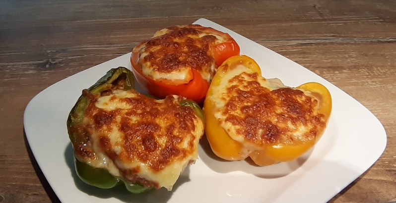 Stuffed lasagna peppers recipe