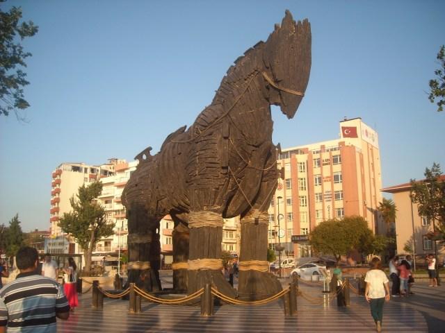 Koń wymyślony przez Odyseusza