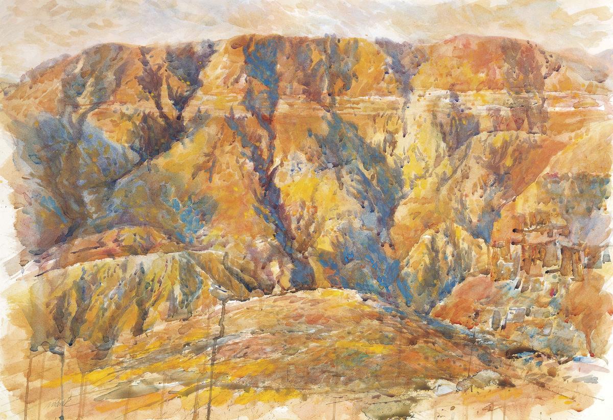 Qumran, 70X100 cm
