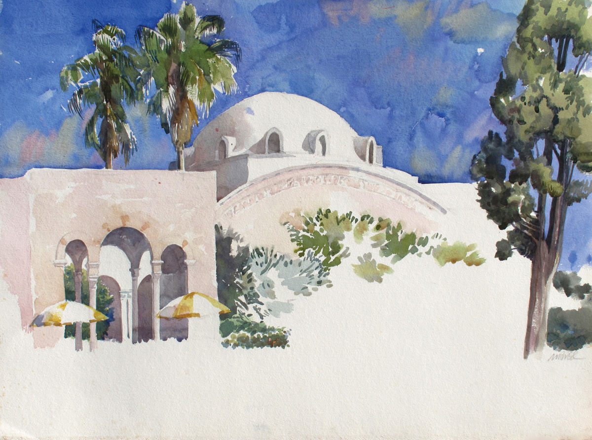 Y.M.C.A Jerusalem, 97X66 cm