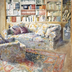 Interior in Jerusalem, 56X76 cm