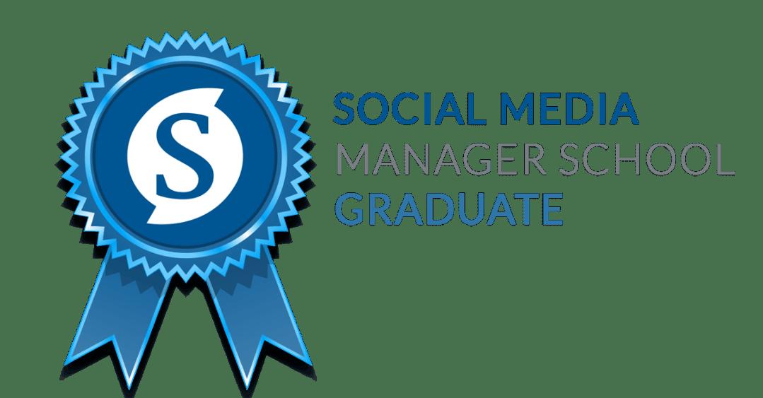 Social Media Manager School Graduate