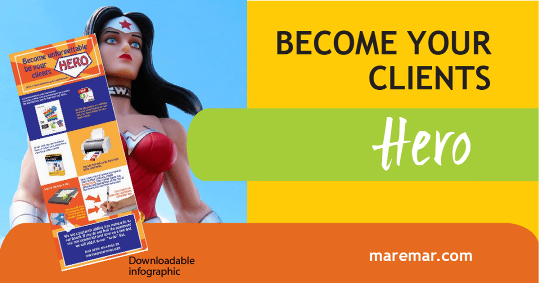 Become your Clientes Hero