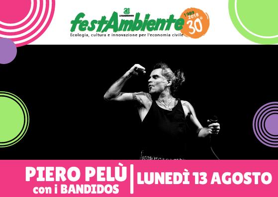 Festambiente Rispescia dal 10 al 19 Agosto 2018 Piero Pelù