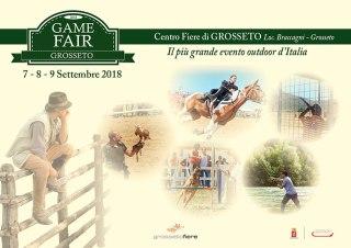Game Fair Grosseto 7 8 9 Settembre 2018