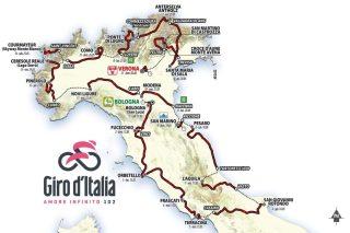 Giro d'Italia 2019 in Maremma a Orbetello e Pitigliano