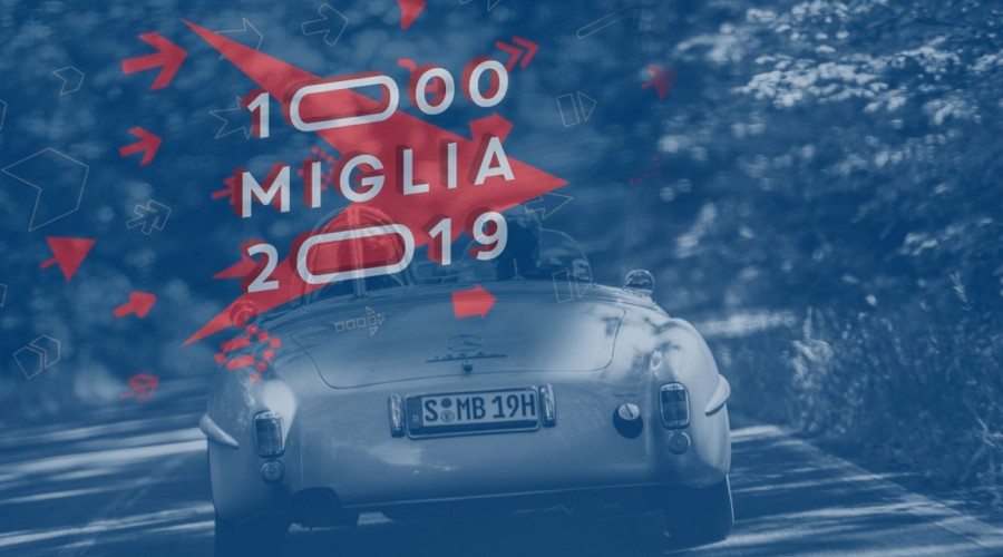 Vip alla 1000 Mille Miglia 2019