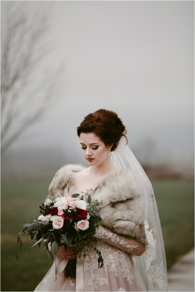 kelsey + jay's wintry roanoke wedding | maren kathleen