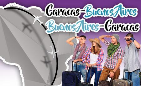 Bs As - Caracas   Caracas - Bs As