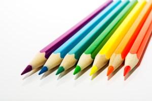 Use a purple pencil