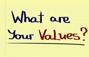 Do you teach values