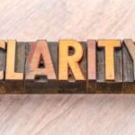 Creating Clarity