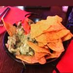 Receta de guacamole con nachos