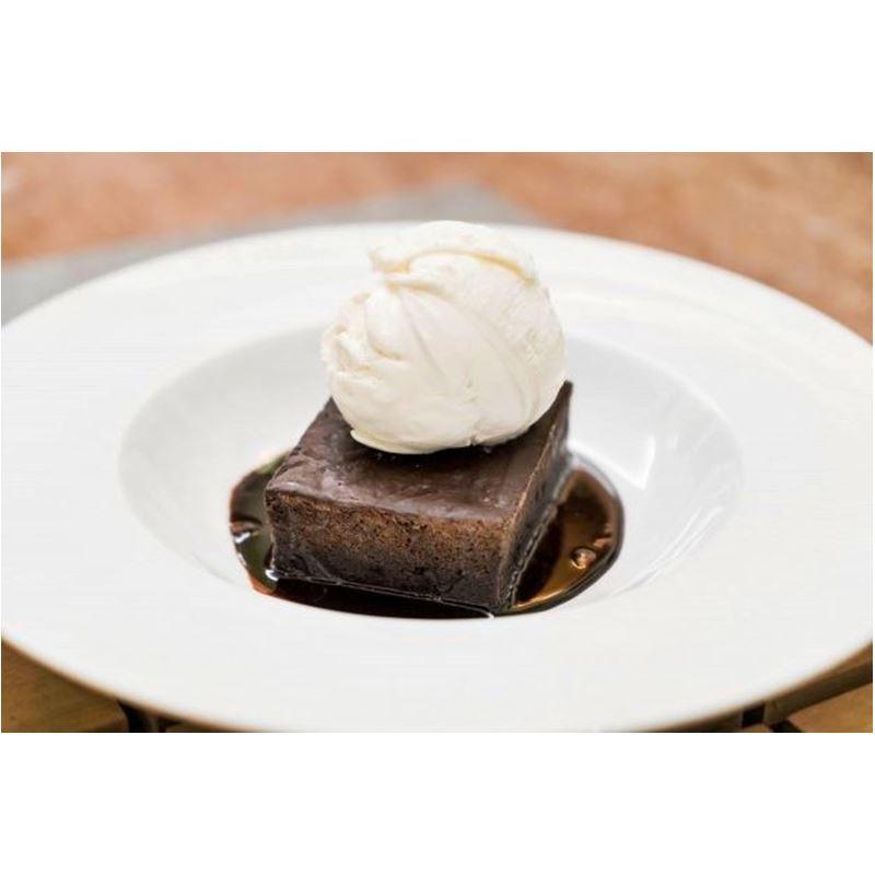 Receta de brownie con crema de cacahuete - Mares Lingua