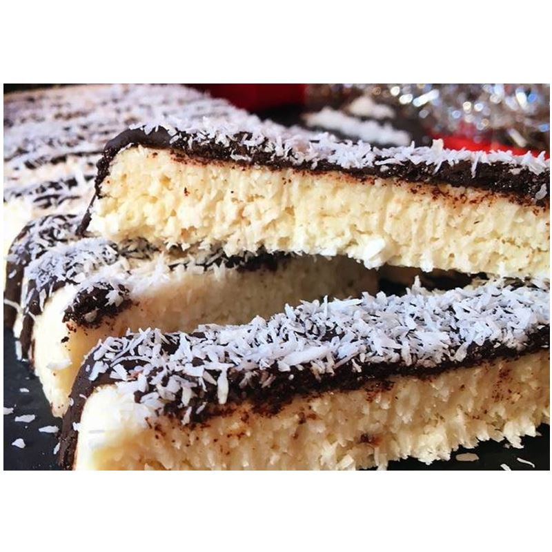 receta de turrón de coco - Mares Lingua - recetas de cocina fáciles y sanas