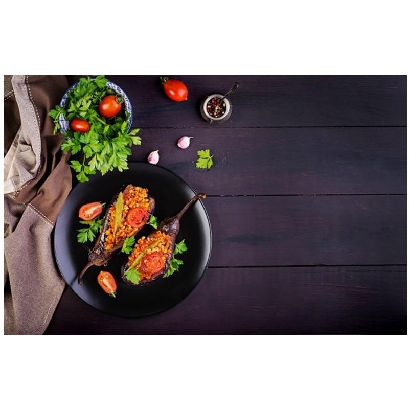 receta de berenjenas rellenas de ternera y cúrcuma - Mares Lingua - Recetas de cocina fáciles