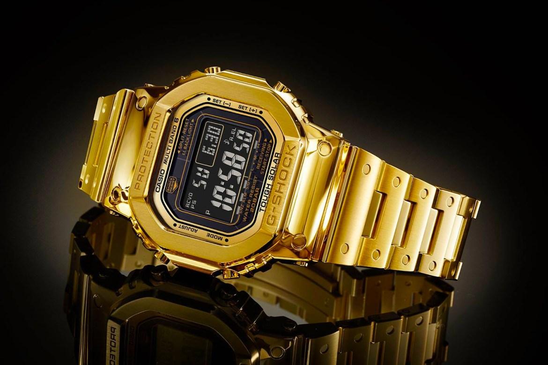 Casio anuncia el primer G-Shock de oro! Serie limitada a 35 unidades!