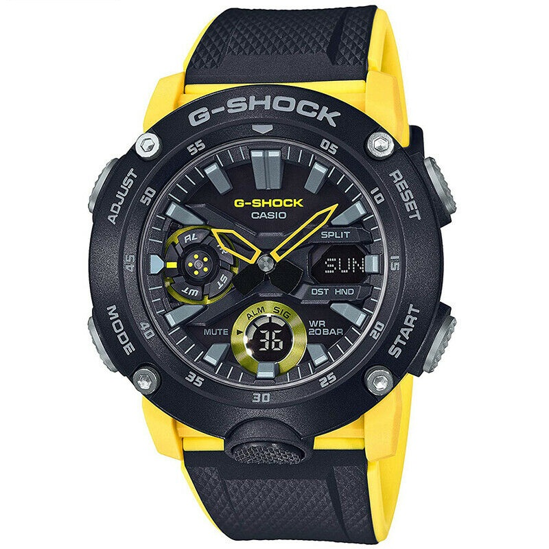 CASIO G-SHOCK CARBON CORE GUARD GA-2000-1A9