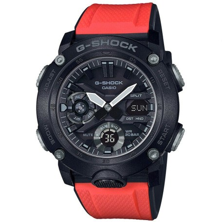 CASIO G-SHOCK CARBON CORE GUARD GA-2000E-4ERjpg