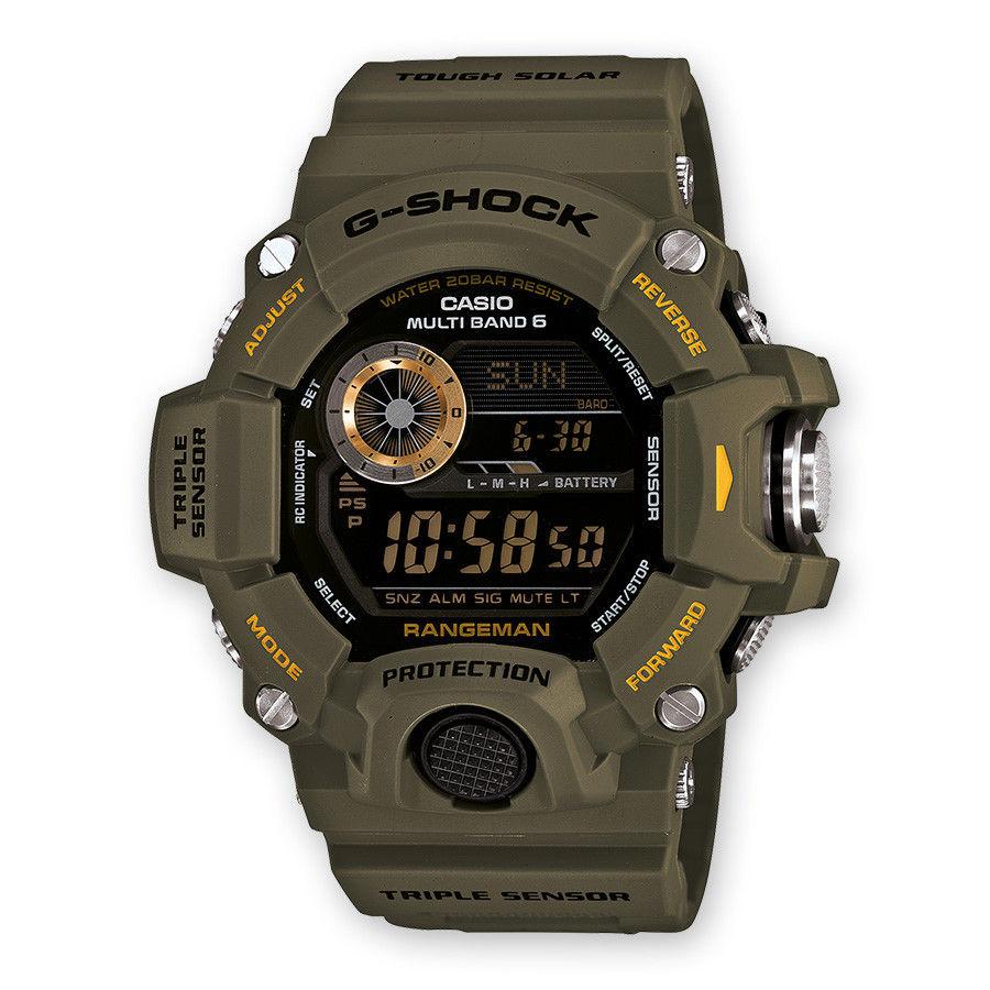 "Casio G-shock Rangeman ""Solar & Multiband 6"" / GW-9400-3ER"