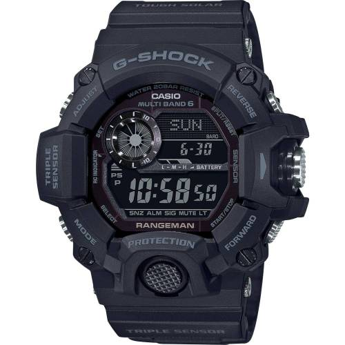"G-Shock GW-9400-1BER / GG-B100-1BER, Nuevos G-Shock Mudmaster y Rangeman ""Black Out Edition"""