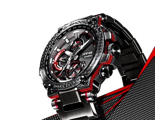 , G-Shock MTG-B1000XBD y MTG-B1000XB con bisel de carbono