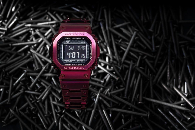 Nuevo G-Shock GMW-B5000RD-4ER!!!