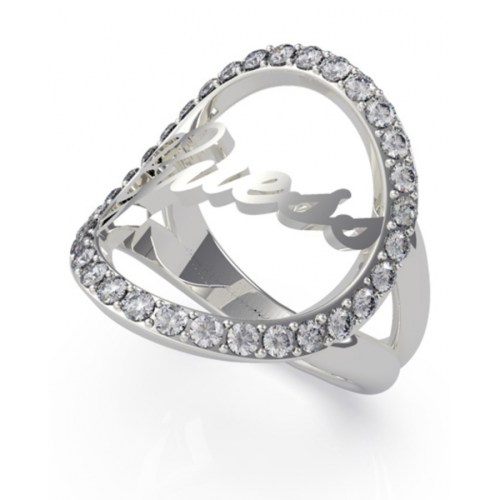Anillo Guess All Around You UBR20049