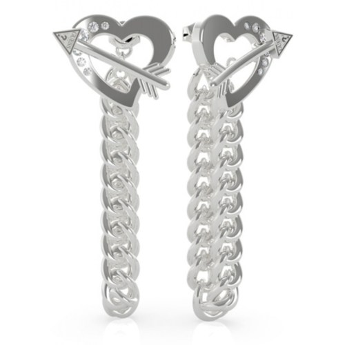 Pendientes Guess Across My Heart UBE79115