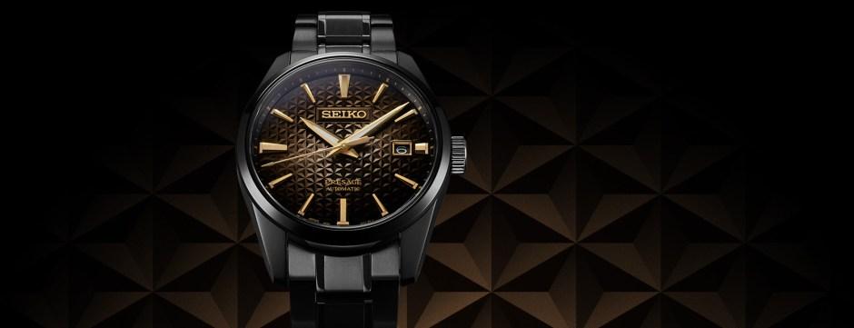 Reloj Seiko Presage Sharp Edgeg SPB205J1 Promo Frontal