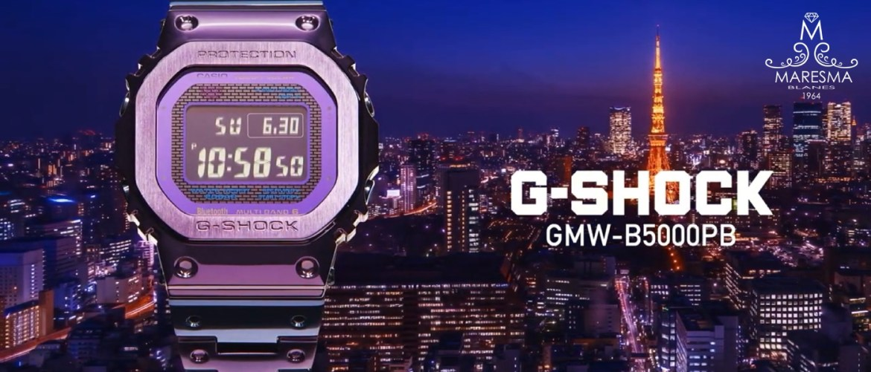 G-Shock GMW-B5000PB-6 inspirado en el crepúsculo de Tokio!