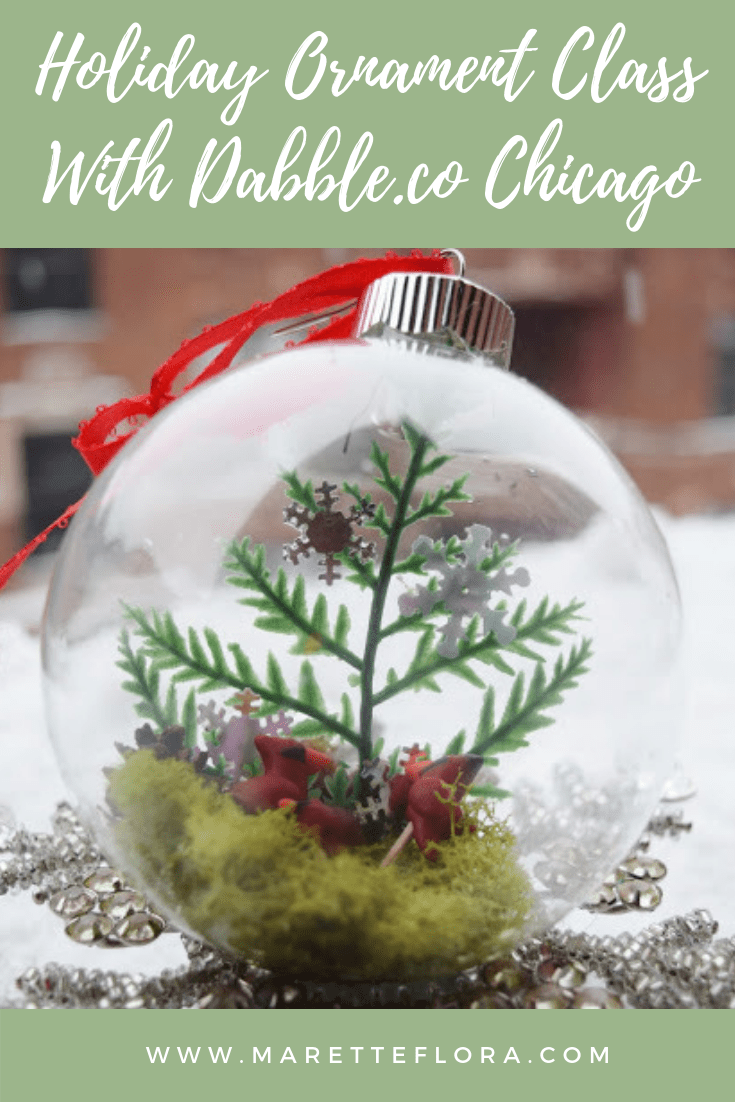 Holiday Ornament Making with Dabble!
