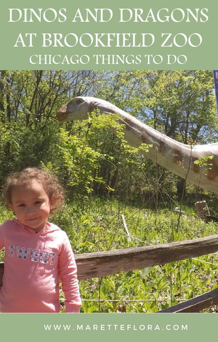 Dinos & Dragons at Brookfield Zoo