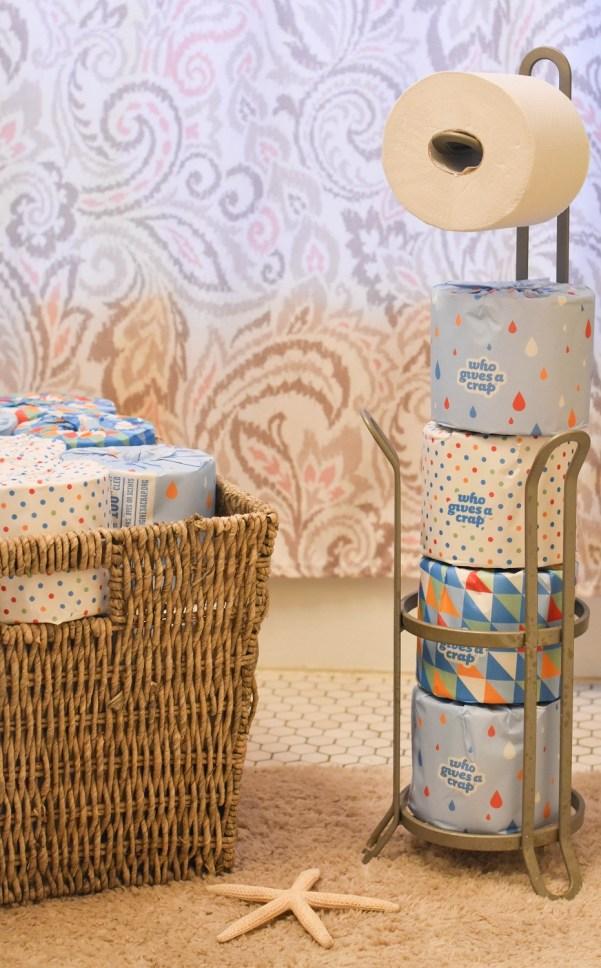 Toilet Paper Storage Solution | Eco-Friendly Toilet Paper