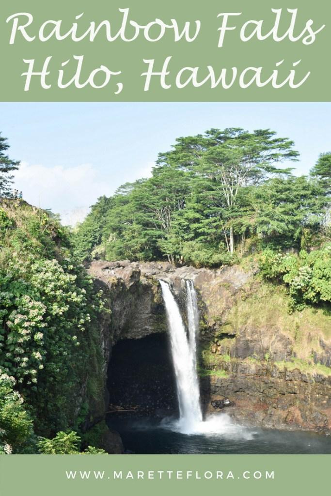 Rainbow Falls in Hilo, Hawaii