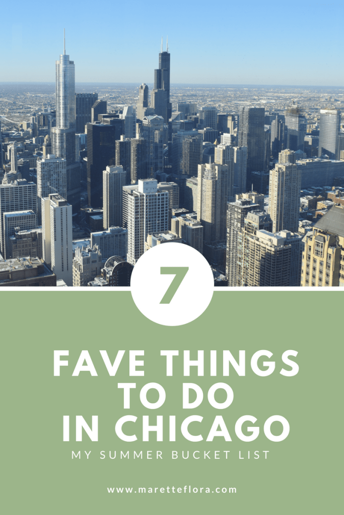 Favorite Things to Do in Chicago During the Summer