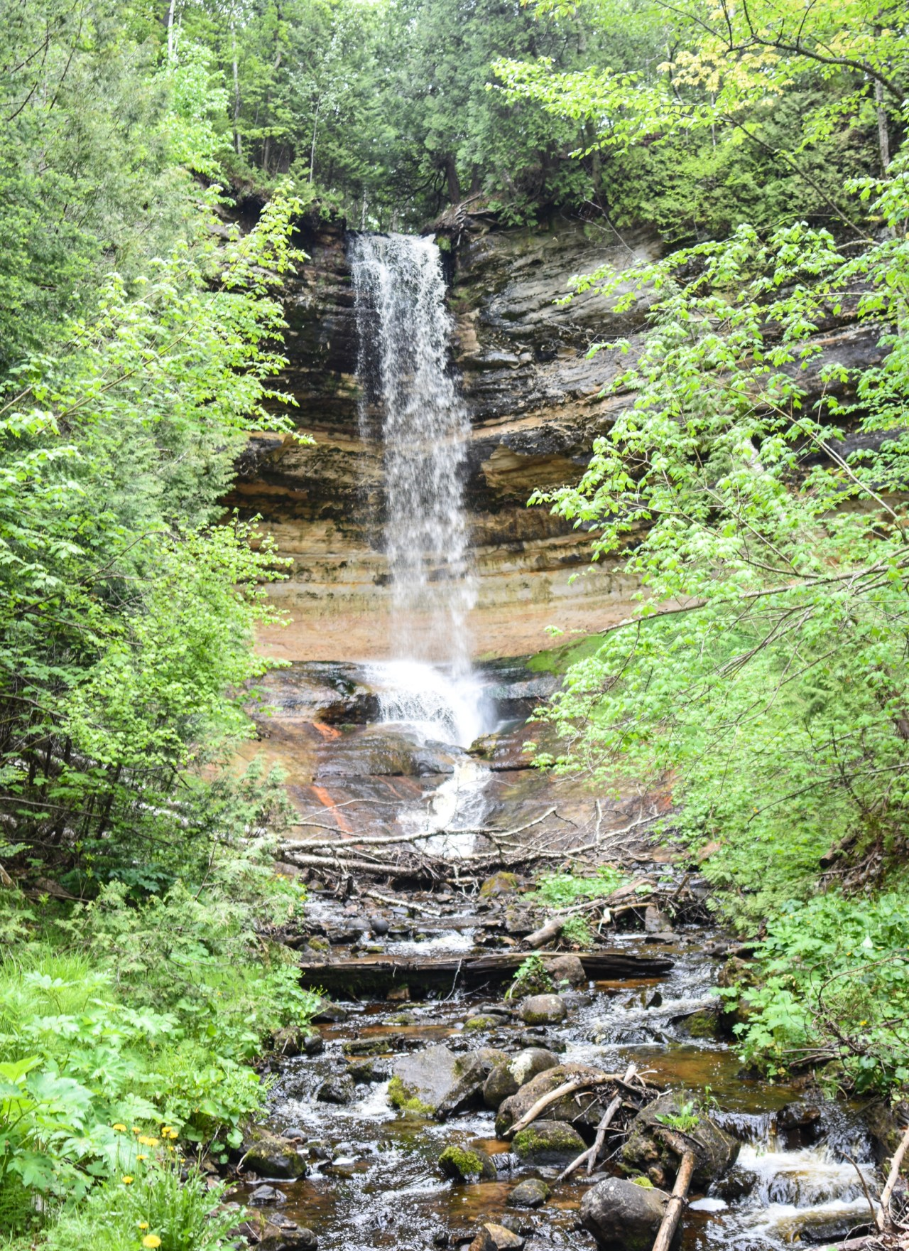 Easy Hike to Munising Falls | Upper Peninsula, Michigan