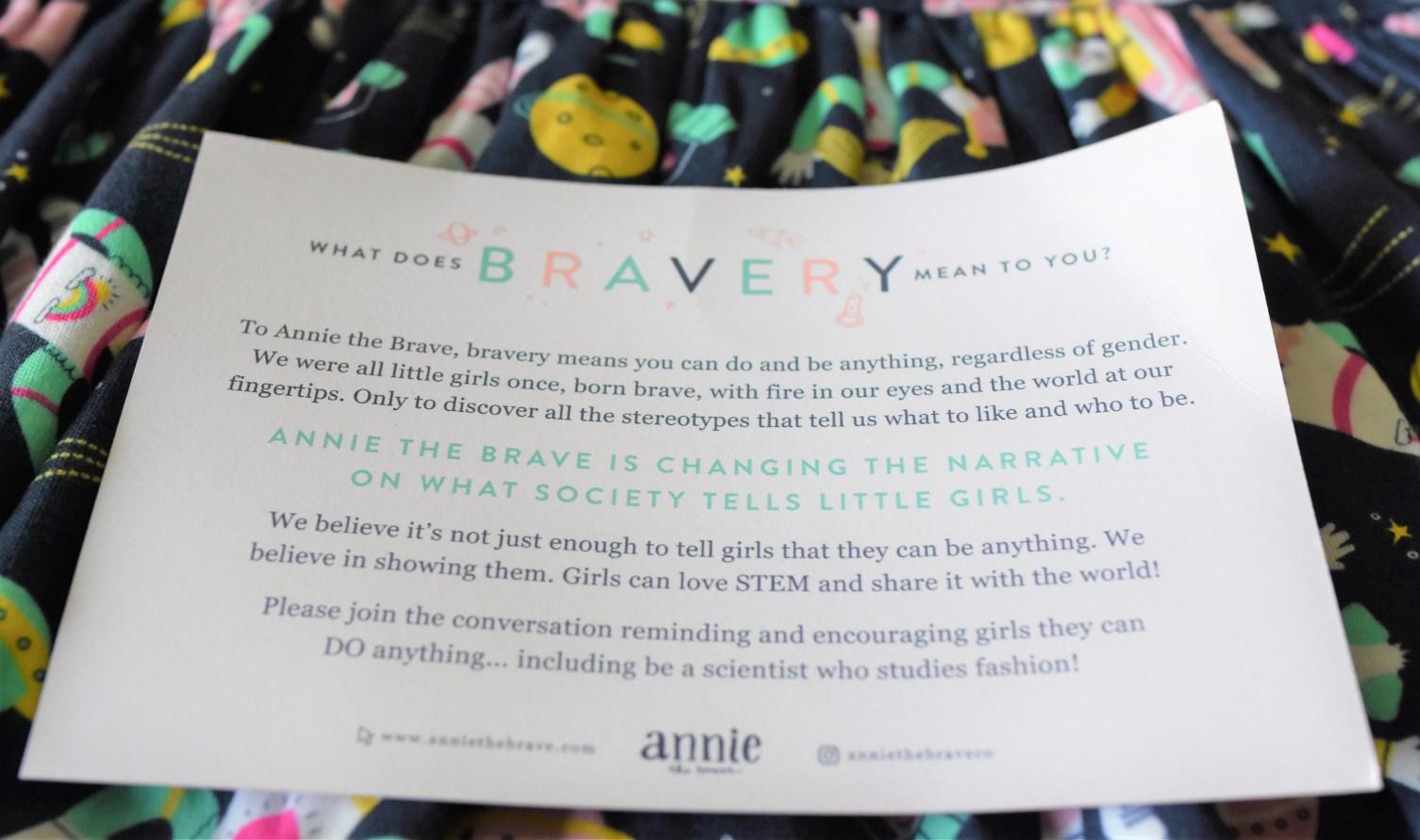 Annie the Brave dress