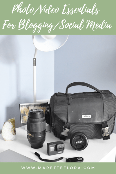 Photo and Video Gear for Blogging
