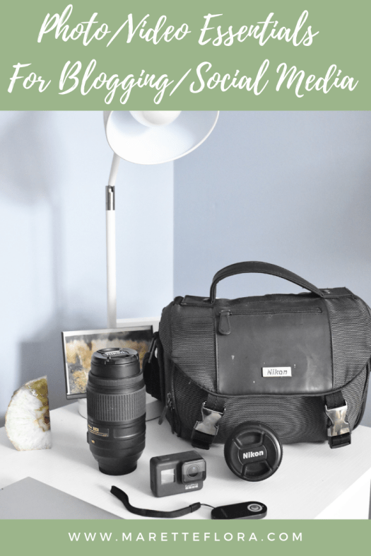 Photography and Video Gear for Blogging