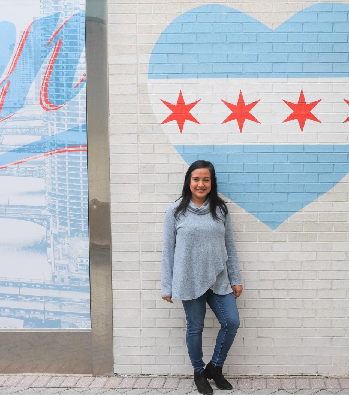 Chicago Area Fall Bucket List & Cozy PinkBlush Top