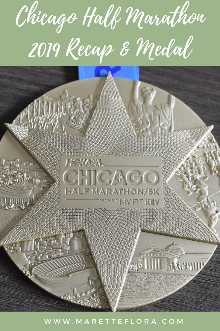 Chicago Half Marathon 2019 Recap and Medal