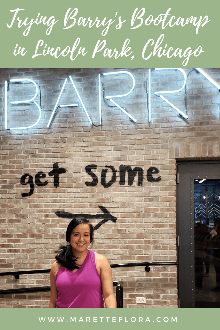 My First Class at Barry's Bootcamp in Lincoln Park, Chicago