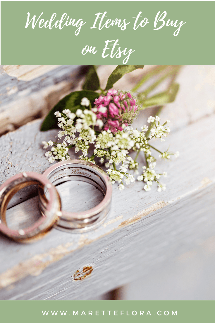 Etsy Wedding Items to Buy in 2021