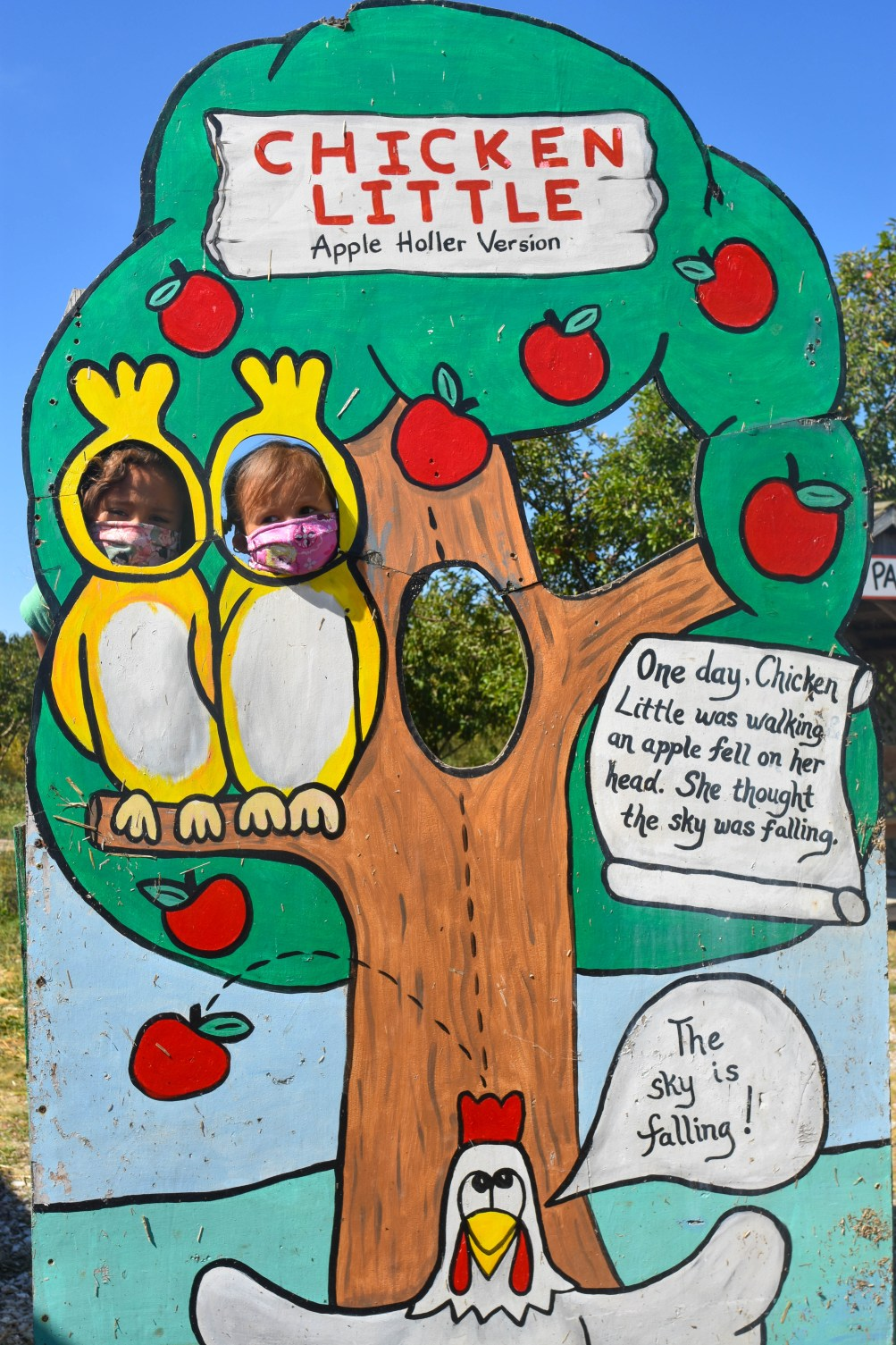 Photo cutouts at Apple Holler near Chicago