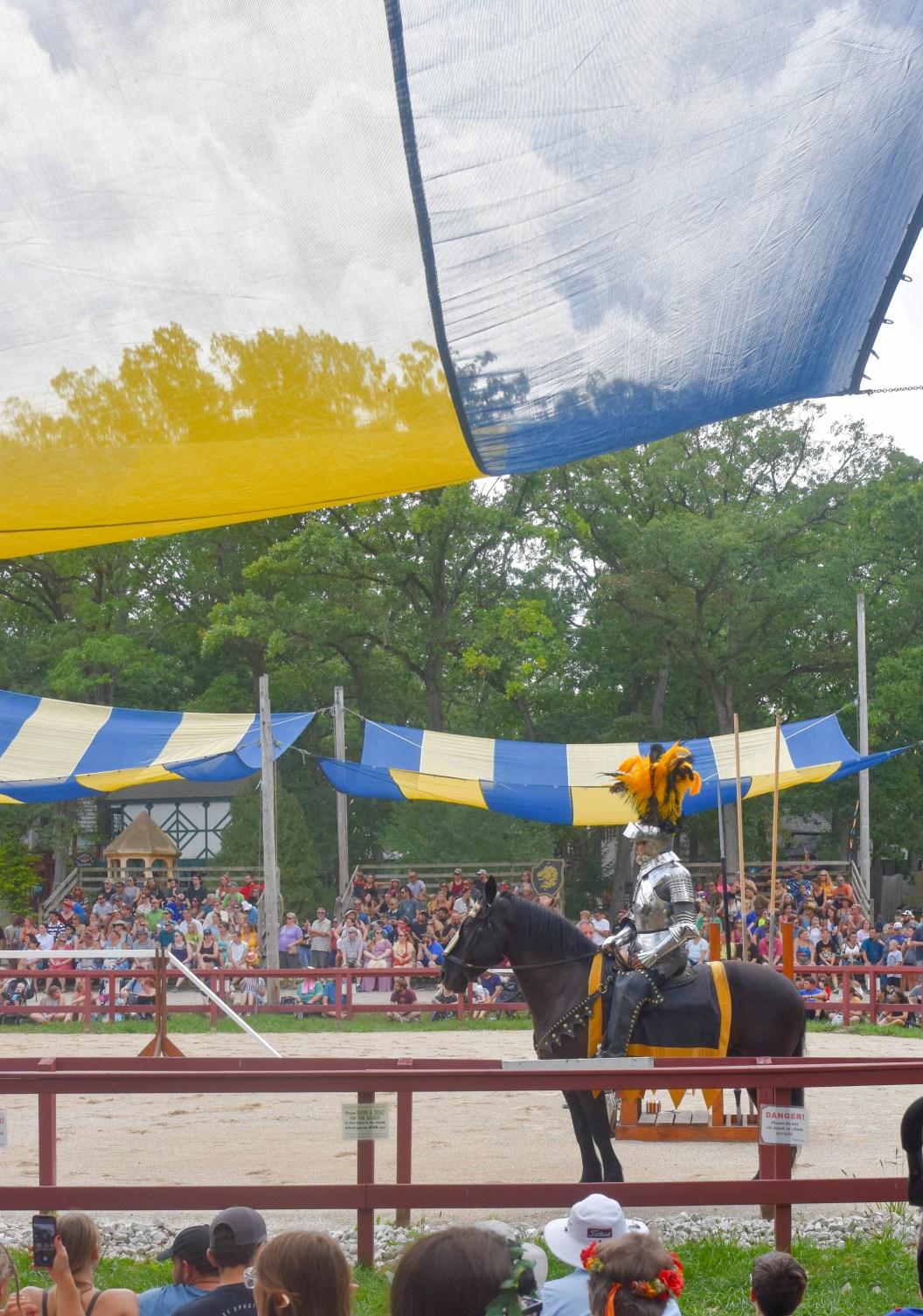 Bristol Renaissance Fair's joust tournament