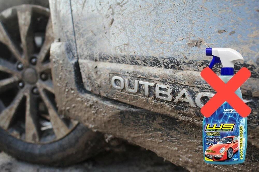Post PT3840 WS CAR CLEAN WATERLESS auto enlodado
